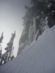 Unclimbed ice, Alpental Photo by Laurel
